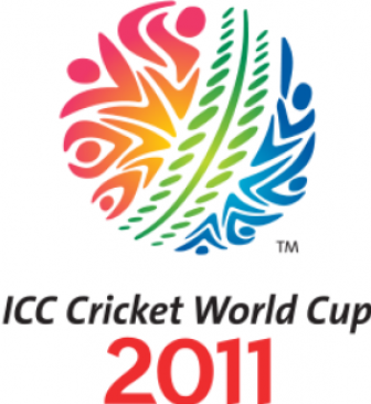 icc world cup logo 2011. ICC Cricket World Cup 2011 trophy in India