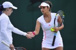 Sania-Bethanie lose to top seeds