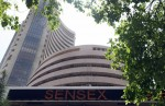 Sensex gains in pre-afternoon trade