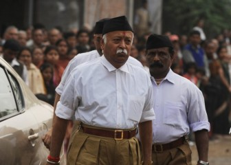 Advani, RSS chief have 'detailed and candid' interaction