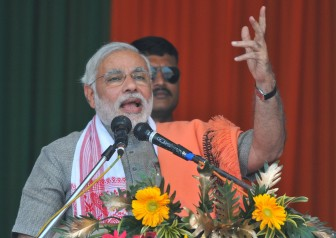 Nitish's PM ambitions led to alliance break-up: Modi