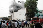 A massive fire broke-out in godown of Hydrabad