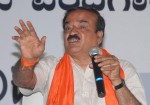 BJP candidate for 2014 Lok Sabha Election from Bangalore South, Ananth Kumar during a press conference in Bangalore on April 14, 2014. (Photo: IANS)