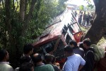 Bus falls into gorge in Dharamsala
