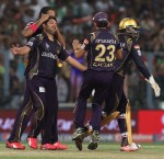 7 May '15 : KKR vs DD 42nd Match : All round performance gift KKR third home win on the trot against Daredevils