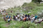 Six killed, 29 missing as bus falls into Himachal river
