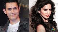 Aamir Khan spends one full day with Sunny Leone!